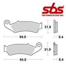 SBS 623 Brake Pad Kit