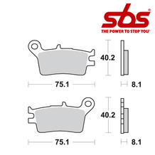 SBS 629 Brake Pad Kit
