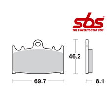 SBS 631 Brake Pad Kit