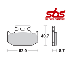 SBS 632 Brake Pad Kit