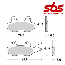 SBS 638 Brake Pad Kit