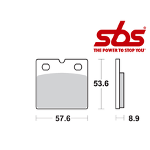 SBS 640 Brake Pad Kit