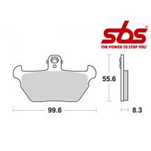 SBS 644 Brake Pad Kit