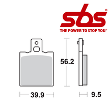SBS 646 Brake Pad Kit