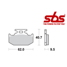 SBS 648 Brake Pad Kit