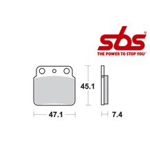 SBS 649 Brake Pad Kit