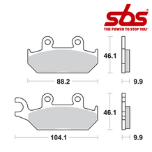 SBS 650 Brake Pad Kit