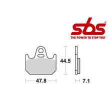 SBS 659 Brake Pad Kit