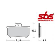 SBS 661 Brake Pad Kit