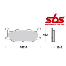 SBS 663 Brake Pad Kit