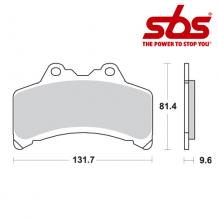 SBS 682 Brake Pad Kit