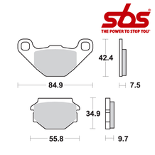 SBS 684 Brake Pad Kit
