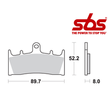 SBS 686 Brake Pad Kit