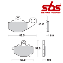 SBS 687 Brake Pad Kit