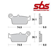 SBS 690 Brake Pad Kit