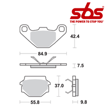 SBS 692 Brake Pad Kit