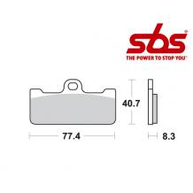 SBS 695 Brake Pad Kit