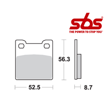 SBS 701 Brake Pad Kit