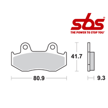 SBS 709 Brake Pad Kit