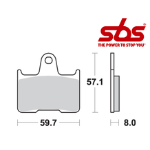 SBS 715 Brake Pad Kit
