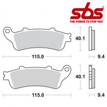 SBS 722 Brake Pad Kit