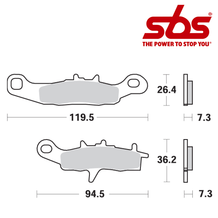 SBS 726 Brake Pad Kit