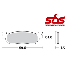 SBS 728 Brake Pad Kit