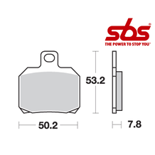 SBS 730 Brake Pad Kit