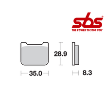 SBS 732 Brake Pad Kit