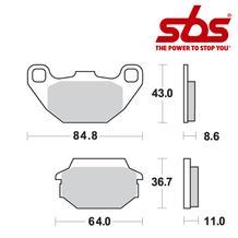 SBS 749 Brake Pad Kit