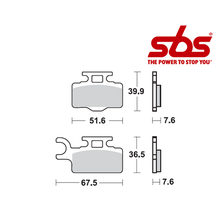 SBS 752 Brake Pad Kit