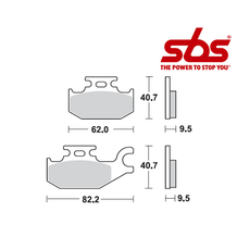 SBS 754 Brake Pad Kit