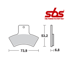 SBS 755 Brake Pad Kit