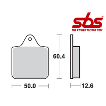 SBS 756 Brake Pad Kit