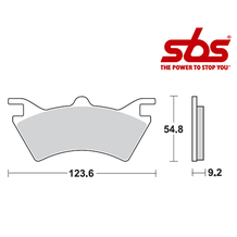 SBS 757 Brake Pad Kit