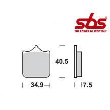 SBS 762 Brake Pad Kit
