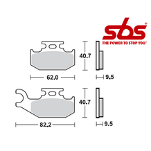 SBS 767 Brake Pad Kit