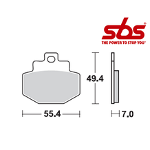 SBS 772 Brake Pad Kit