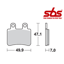 SBS 773 Brake Pad Kit