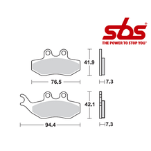 SBS 774 Brake Pad Kit