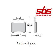 SBS 775 Brake Pad Kit