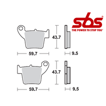 SBS 777 Brake Pad Kit