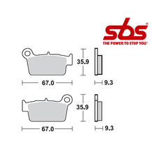SBS 790 Brake Pad Kit