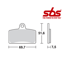 SBS 799 Brake Pad Kit