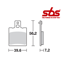 SBS 824 Brake Pad Kit