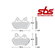 SBS 803 Brake Pad Kit