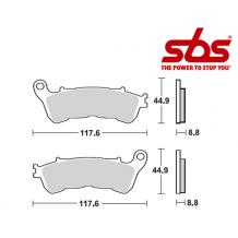 SBS 805 Brake Pad Kit