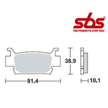 SBS 829 Brake Pad Kit