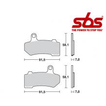 SBS 830 Brake Pad Kit