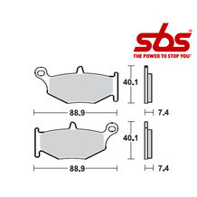 SBS 833 Brake Pad Kit